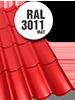 MAT_tigla_metalica_clasica_3011_RAL